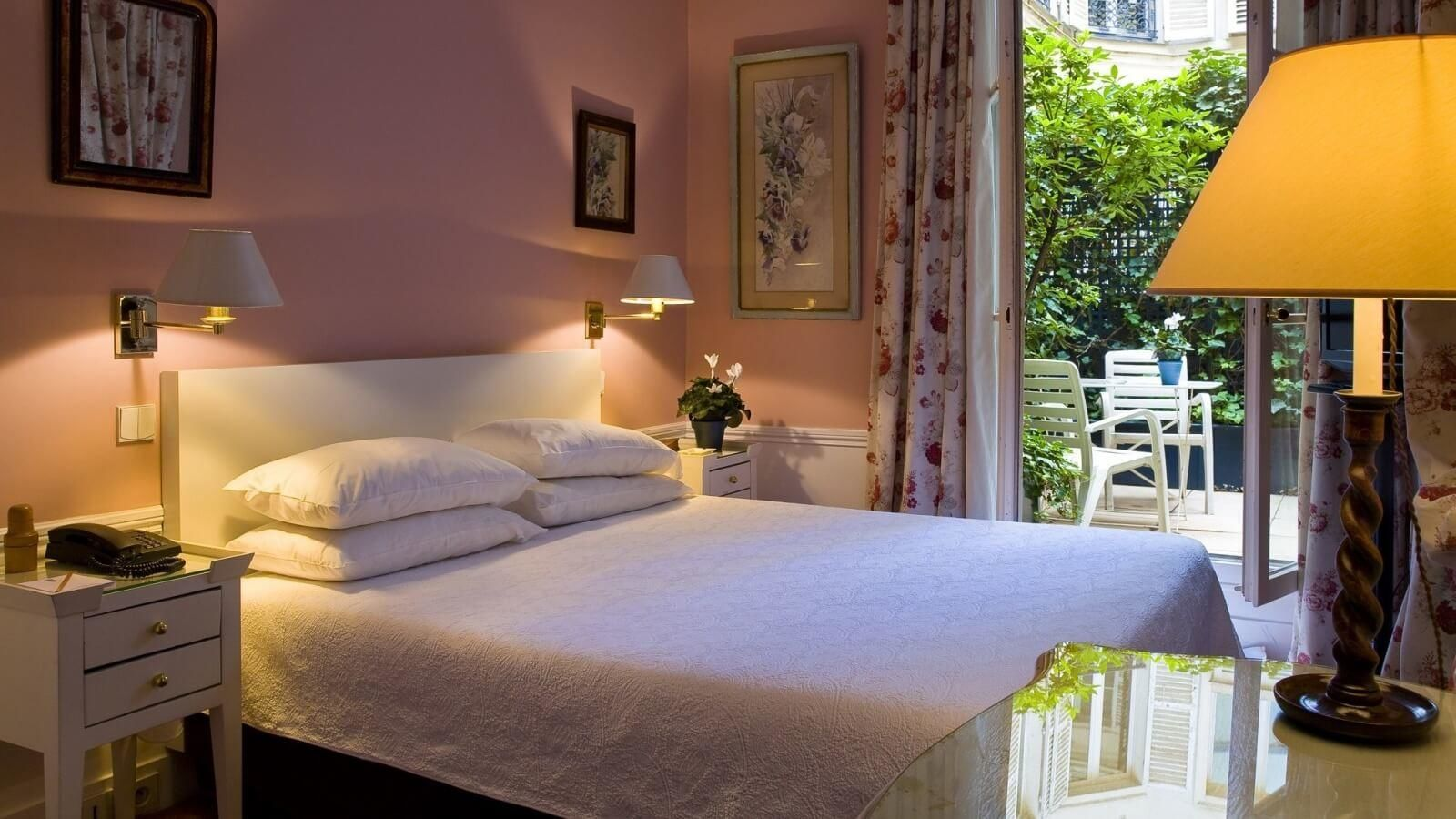 H tel le saint gr goire paris site officiel for Site hotel de luxe